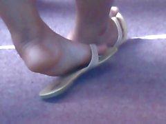 Los pies Foto natural a mi novia ex de 3