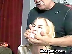 Bdsm Whore Spanked Wildly