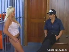 Blonde punished in jail