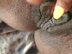 Cumming, Fingering & Peeing all over myself. EXTREME CLOSE UP