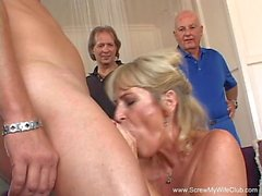 Anal Sex For Swinger Grannie GILF
