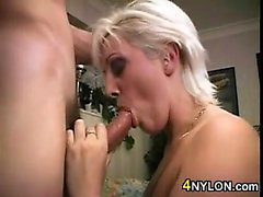 British Blonde Chick Wants Some Dick