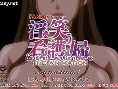 Anime milf in stockings pounded