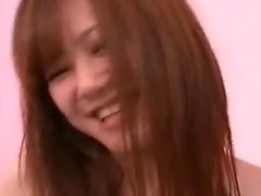 Sweet Asian girl is made to cum with a sex toy and fucks a
