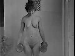 Yvonne keeping fit nude
