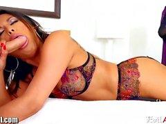 Kaylani Lei Double Stuffed with Toy and Cock
