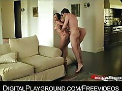 Chastity Lyyn and Jada Stevens take turns being dominated
