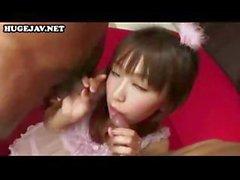De Shiori Himemiya est une jeune de Bimbo Japon mignonne qui a se sa chatte poilue blaster