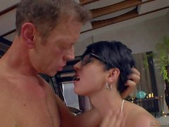 Famous Rocco Siffredi has 69 with secretary