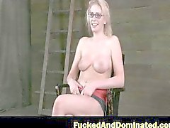 Farmers Daughter gets her tits bound 2