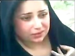 iraqi shy cute women showing milky cleavage