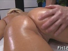 Very sexy acquires drilled hard by her massage therapist