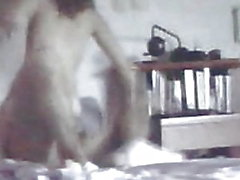 l'enregistrement de son orgasme anal intense MILF caméra cachée