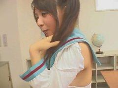 Mikuru Asahina hentai cosplay