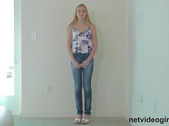 Blonde Teen Gets Creampied At Calendar Audition