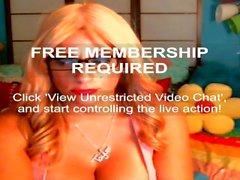 Taylor Stevens iFriends Webcam Hack 16/07/15