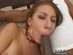 Kira is a dirty little cock sucker
