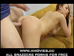 Flexible Rochelle Ryder laid in her couch2
