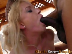 Bbc loving slut gets jizz