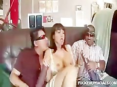 Hot Milf Ava Devine got 2 big cocks