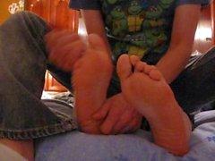 Tickling My Girlfriends Feet (5-19-2012)