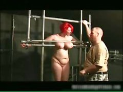 Chubby redhead babe gets bound part5