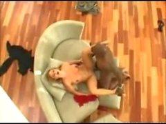 Avy Scott Lex acier Pussy pounding