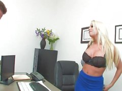 Britney Amber Interviews Him And He Has To Fuck For The Job - Scene 1