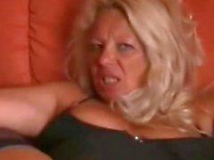 Mature Blonde Assfuck