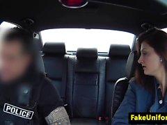 Real uk amateur rims fake cops arsehole