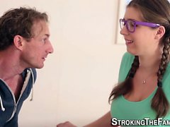 Glasses stepteen tasted
