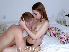 BAEB Brunette babe Riley Reid gets her pussy fucked on 420