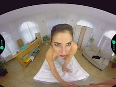 Czech vr Sexy french girl giving the worlds best massage