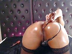 charmaine oiled anal