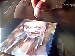 Jills Super spruta krämiga ansikts Sperma cam 2