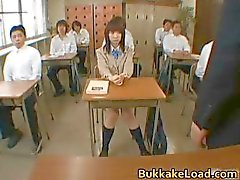 Steamy real asian school girl Mari part6