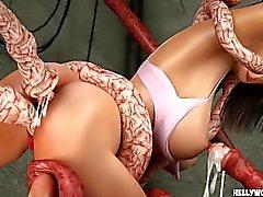 Порно сперма в пизде мульт 3d