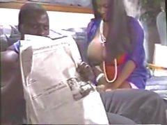 Mature Ebony Woman Lactating