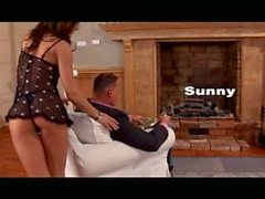Sunny goes anal