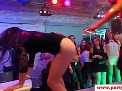 Euro party amateur sucking strippers bbc