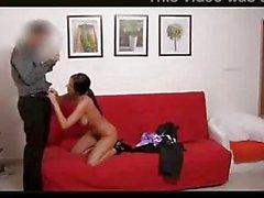 Teacher takes a spanking