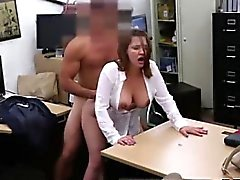 Blowjob at mcdonalds Foxy Business Lady Gets Fucked!