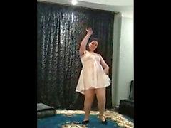 Arab big beautiful woman dance compilation