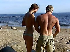 Vlaska sahilde seks yapıyor