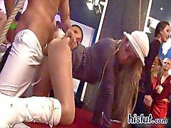Sharka eine Party und es wird in Orgie wandte