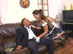 Naughty Spanish Maid