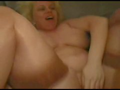 Slut Cheating Wife fucked by her 2 friends after a Party-P2
