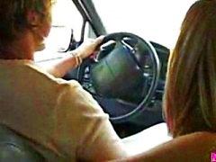 CUTIE - Blowjob i car