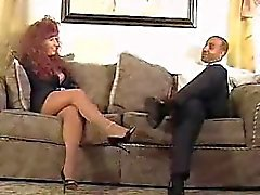 Redhead mommy gets banged by black Waneta from 1fuckdatecom