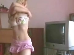 blonde toying and fisting